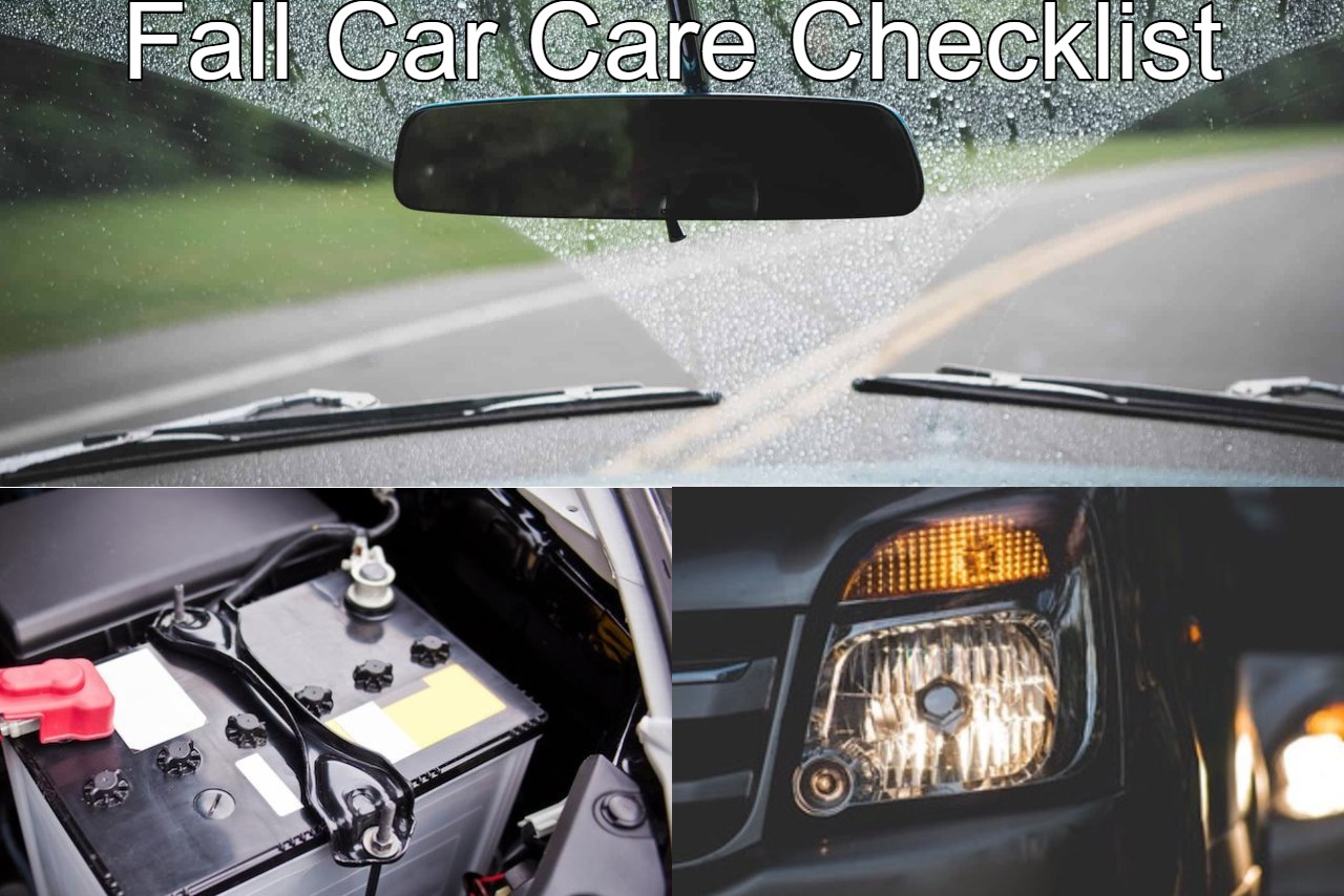 Top 3 Fall Car Care Items: Why you need them on your To-Do List.